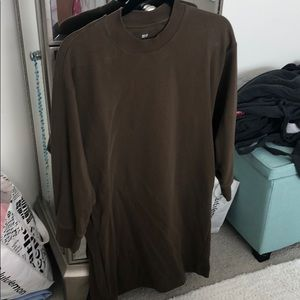 Uniqlo sweater dress